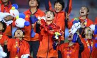 Khoảnh khắc Nữ Việt Nam nhận chiến tích lịch sử SEA Games