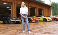 Người phụ nữ với sở thích sưu tập siêu xe McLaren