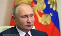 Tổng thống Nga Vladimir Putin. (Nguồn: AFP/TTXVN)