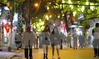 Khai mạc mở rộng không gian phố đi bộ tại đền Kim Ngân trên phố Hàng Bạc vào tối nay