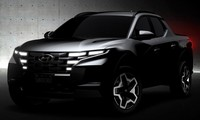 Bán tải Hyundai Santa Cruz cận kề ngày ra mắt