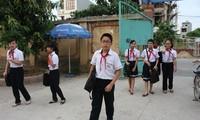 Học sinh THCS Nam Định