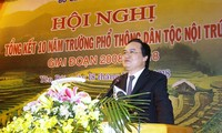 Bộ trưởng Phùng Xuân Nhạ chia sẻ quan điểm của ngành đối với vụ việc xẩy ra tại trường Phổ thông dân tộc nội trú THCS Thanh Sơn, Phú Thọ