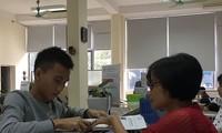 Quang Quốc Việt nhập học tại ĐH Bách khoa.Ảnh: Nghiêm Huê