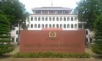 Học viện An ninh nhân dân đã buộc thôi học thí sinh được nâng điểm tại kỳ thi THPT quốc gia 2018 đến từ Hòa Bình, Sơn La