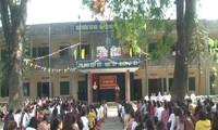 Khai mạc kỳ thi viên chức giáo dục (vòng 2) tại huyện Ứng Hòa vừa qua.