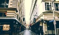 Đường phố ở Úc vắng lặng những ngày này. Ảnh: M.T