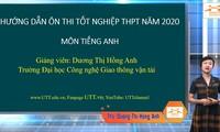 """Ôn thi tốt nghiệp THPT 2020 môn tiếng Anh: Chuyên đề """"Ngữ âm - Trọng âm"""", Phần 2"""