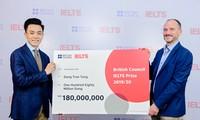 Thí sinh đầu tiên của Việt Nam đạt IELTS 9.0 giành học bổng của Hội đồng Anh