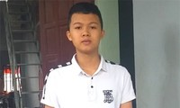 Em Lê Việt Hoàng, cựu học sinh trường THPT Bỉm Sơn (Thanh Hoá). Ảnh: Hà Cường/VTC News
