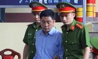 Bị cáo Nguyễn Văn Dương cho biết sẽ không kháng cáo.