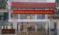 Sở GD&ĐT tỉnh Sơn La, nơi nhiều cán bộ dính tiêu cực nâng điểm.