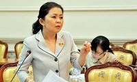 Bà Đào Thị Hương Lan trước khi bị truy nã