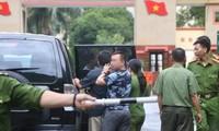 Cơ quan điều tra khám nhà bị cáo Vũ Trọng Lương vào năm 2018.