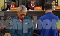 Bị cáo Đỗ Khắc Hưng tại tòa.