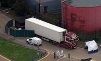 Chiếc xe chở 39 người tử vong khi nhập cư bất hợp pháp vào Anh.