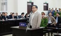 Phan Văn Anh Vũ tại phiên tòa