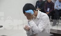 Bị cáo Đặng Văn Dương tại tòa.