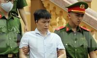 Bị cáo Đỗ Mạnh Tuấn - Phó hiệu trưởng trường nội trú Lạc Thủy kiêm ủy viên chấm thi trắc nghiệm năm 2018.