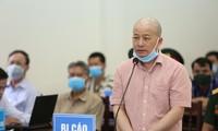 Bị cáo Đinh Ngọc Hệ cho rằng mình không phạm tội như cáo buộc.