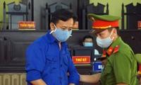 Bị cáo Nguyễn Minh Khoa - nguyên Trưởng phòng An ninh chính trị nội bộ Công an tỉnh Sơn La.