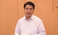 Bị cáo Nguyễn Đức Chung - nguyên Chủ tịch UBND TP Hà Nội.