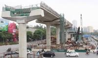 Dự án đường sắt Nhổn - ga Hà Nội đã bị chậm tiến độ.