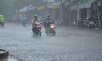Các tỉnh Bắc Trung Bộ có mưa lớn trong hai ngày cuối tuần