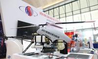 Trực thăng lên thẳng không người lái do Viện Hàn lâm Khoa học và Công nghệ Việt Nam chế tạo thành công.