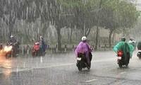 Gió mùa đông bắc kết hợp hội tụ gió trên cao sẽ gây mưa trong nhiều ngày tới. Ảnh minh họa.