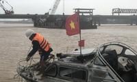 Mưa lũ tiếp tục lên nhanh trên các sông ở miền Trung, đặc biệt là Nghệ An đến Thừa Thiên Huế.