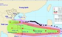 Bão số 9 dự báo di chuyển nhanh với cường độ mạnh khi áp sát vùng biển Đà Nẵng - Phú Yên.