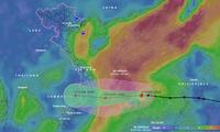 Hoàn lưu bão kết hợp với không khí lạnh gây mưa cho các tỉnh miền Trung từ chiều nay.