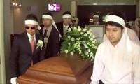 Hàng trăm ngàn lượt xem livestream lễ tang để tiễn đưa danh ca Thái Thanh