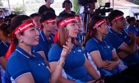 Các Hoa hậu - Á hậu cùng tham gia ngày hội Hiến máu nhân đạo tại Đồng Nai
