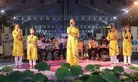 Hàng trăm nghệ sỹ miền Đông Nam bộ hát mừng Sài Gòn 44 năm mang tên Bác Hồ