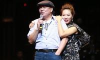 Ca sĩ Trần Thu Hà khẳng định nhạc sĩ Trần Tiến vẫn khoẻ mạnh