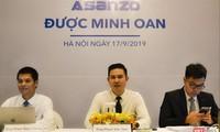Ông Phạm Văn Tam (ngồi giữa) tại buổi họp báo 'minh oan' ngày 17/9