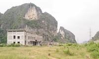 Khu vực nhà máy xi măng Phú Sơn ở Nho Quan, Ninh Bình. Ảnh: Báo Đầu tư