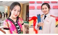 Ngắm nhìn 'bông hồng' Ngọc Linh - Nữ sinh dân tộc Nùng của Học viện Cảnh sát Nhân dân