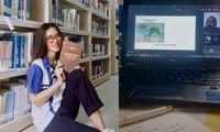 Sinh viên học trực tuyến: Người thấy thuận lợi, người thấy khó khăn