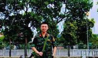 Nam sinh Học viện Quân y lần đầu tham gia chống COVID-19 và những trải nghiệm khó quên