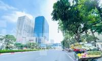 Nhiều đường phố Hà Nội thông thoáng trong ngày đầu thực hiện Công điện 15