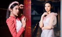 Hoa hậu Ngọc Hân, NTK Hà Duy đưa chi tiết rất đặc biệt vào bộ sưu tập áo dài mới