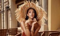 Không cần khoe trọn vòng 1 nóng bỏng, Hoa hậu Tiểu Vy vẫn tràn đầy quyến rũ