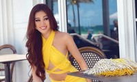 Mãn nhãn với loạt trang phục cắt xẻ táo bạo khoe đường cong của Hoa hậu Khánh Vân