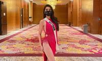 """Bí mật nào giúp nàng Hậu 'hot hit' tự tin thả dáng với váy xẻ cao mà không sợ """"lộ hàng""""?"""
