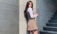"""Âu Dương Na Na xuất hiện với visual """"thanh xuân vườn trường"""" quả xứng """"nữ thần thời trang"""""""