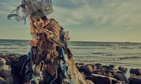 Biến rác thải thành thời trang, tái hiện nỗi đau trước khi chết của sinh vật biển