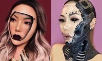 """""""Phù thủy make-up"""" Canada và phong cách trang điểm ảo ảnh thị giác"""